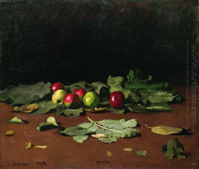 Apples And Leaves 1879