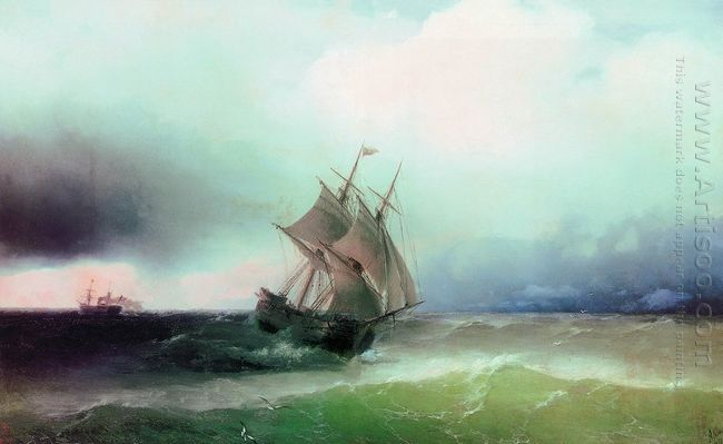 Approximation Of The Storm 1877