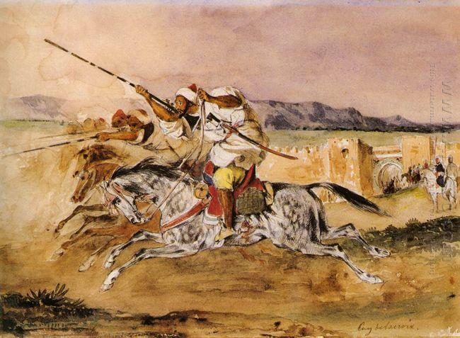 Arab Fantasia 1832
