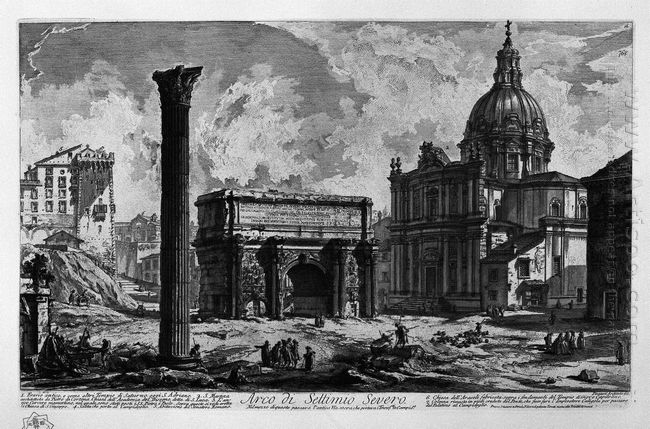 Arch Of Septimius Severus 1