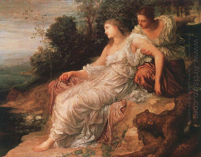 Ariadne On The Island Of Naxos 1875