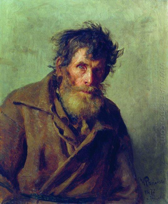 A Shy Peasant 1877