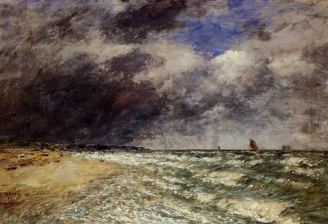 A Squall From Northwest 1895