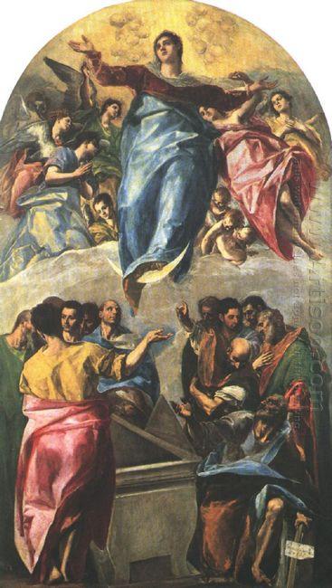 Assumption Of The Virgin 1577