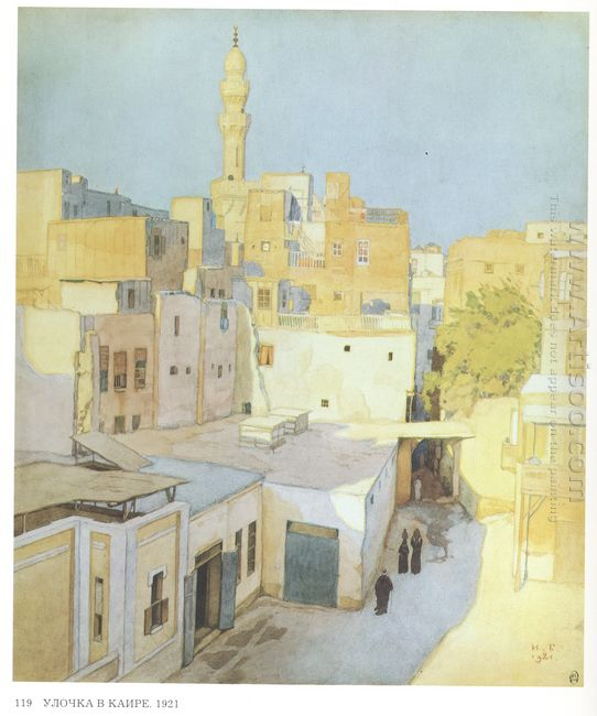 A Street In Cairo 1921