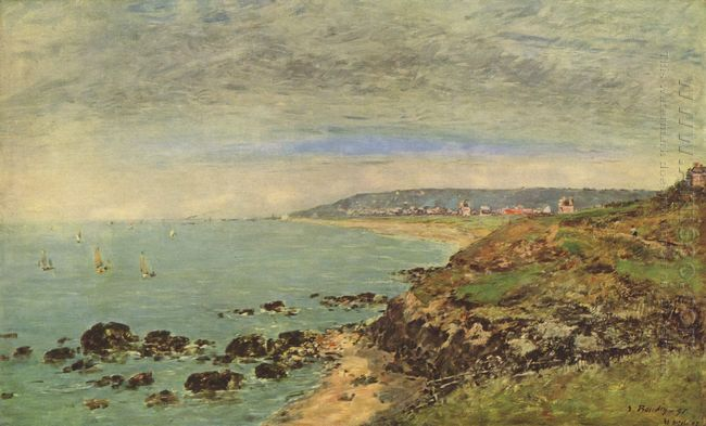 Atlantic Coast Near Benerville 1897