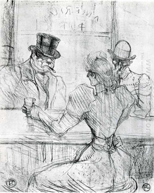 At The Bar Picton Rue Scribe 1896