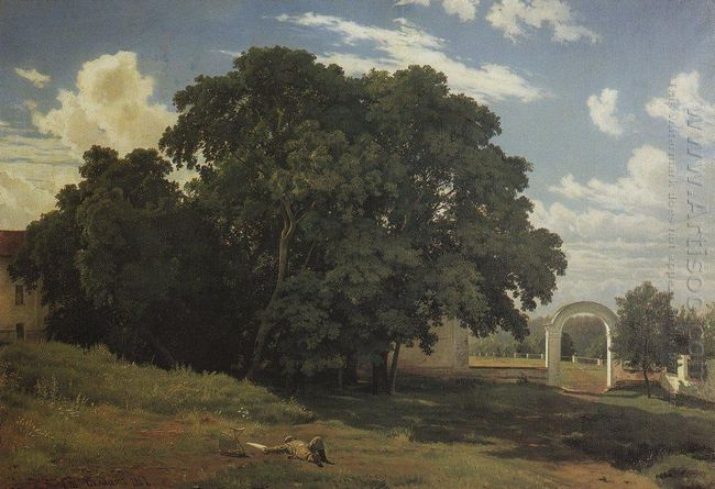 At The Church Fence Balaam 1867