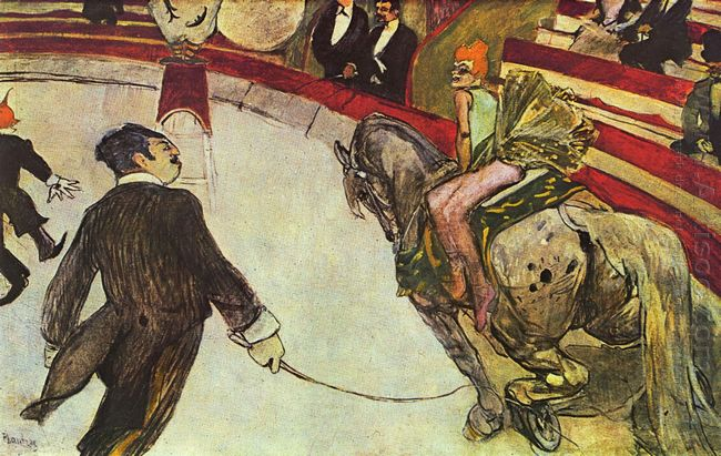 At The Circus Fernando The Rider 1888