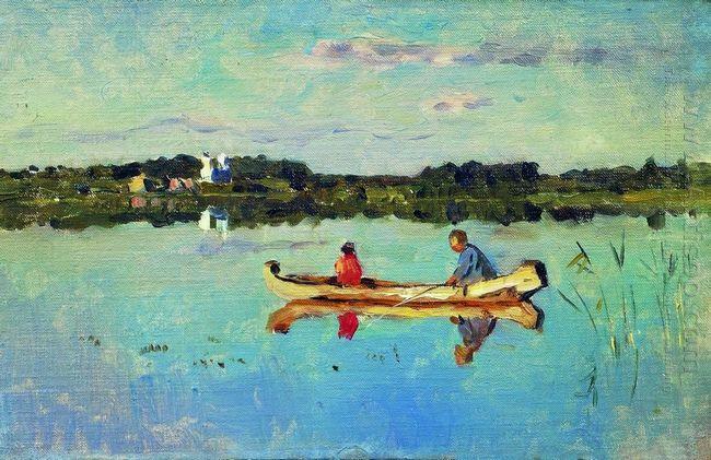 At The Lake Fishermen