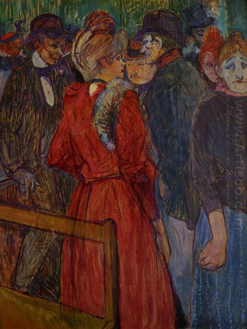 At The Moulin De La Galette 1891