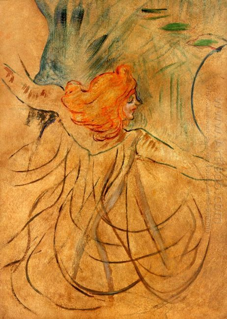 At The Music Hall Loie Fuller 1892