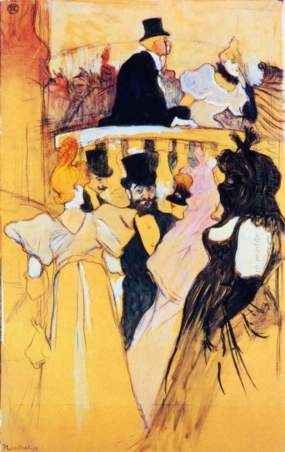 At The Opera Ball 1893