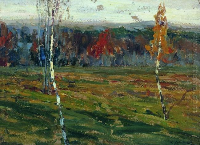 Autumn Birches 1899