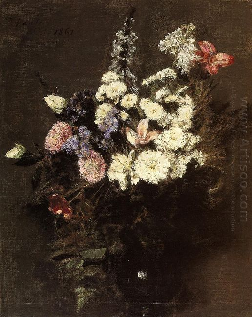 Autumn Flowers 1861