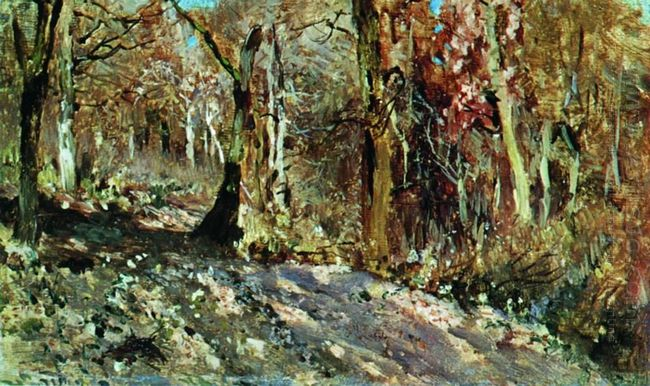 Autumn Forest 1886