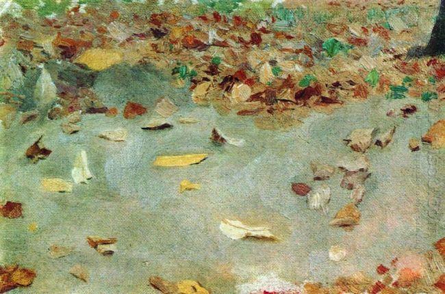 Autumn Leaves 1879