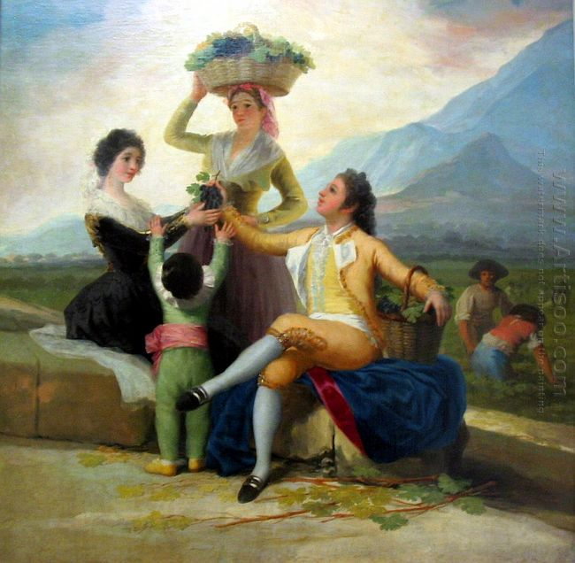 Autumn Or The Grape Harvest 1787