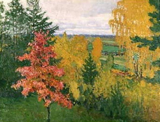 Autumn Red Oak