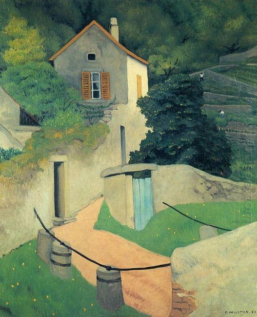 A Vallon Landscape 1923