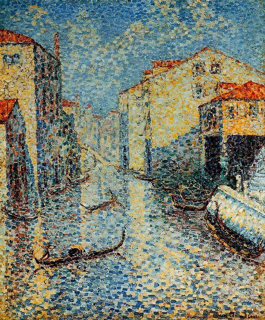 A Venetian Canal 1905