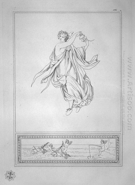 Bacchante Dancing With Castanets