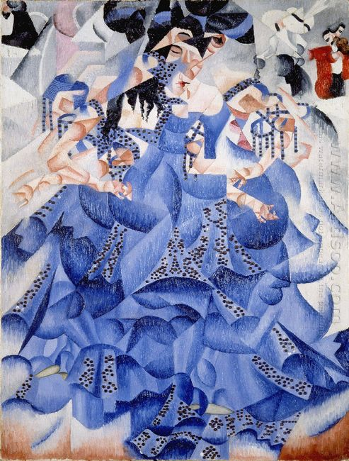 Ballerina In Blue 1912