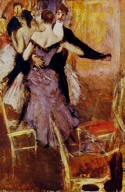 Ballerina In Mauve