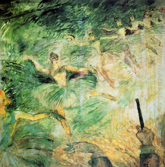 Ballet Dancers 1885