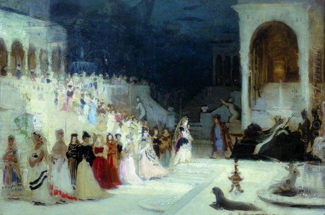Ballet Scene 1875