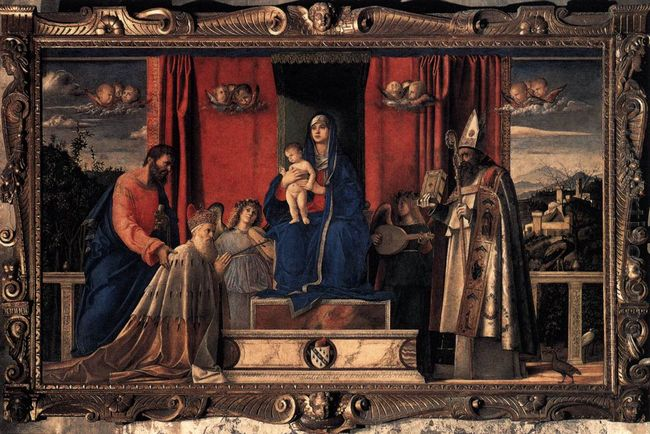 Barbarigo Altarpiece 1488 2