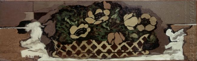 Basket With Anemones 1924