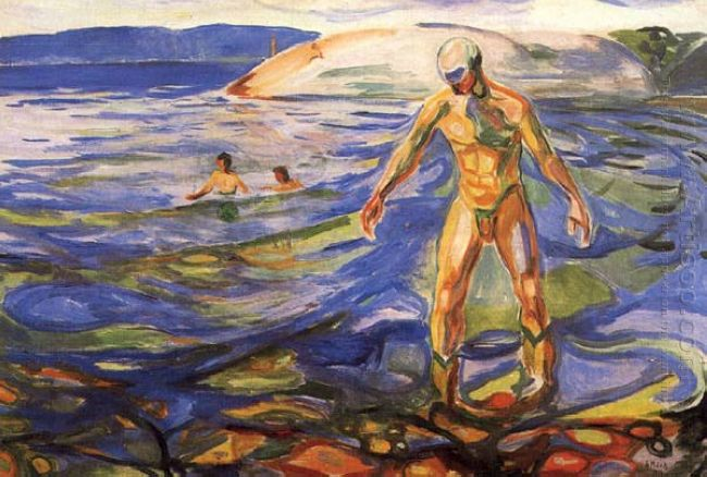 Bathing Man 1918