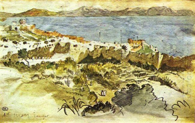 Bay Of Tangier In Morocco