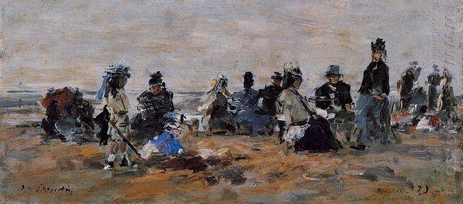Beach Scene 1879