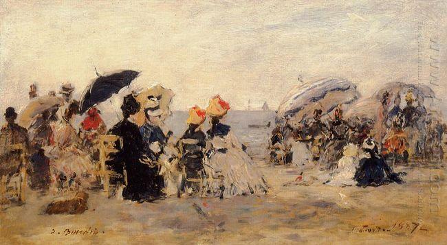 Beach Scene 1887