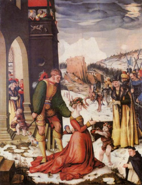 Beheading Of St Dorothea 1516