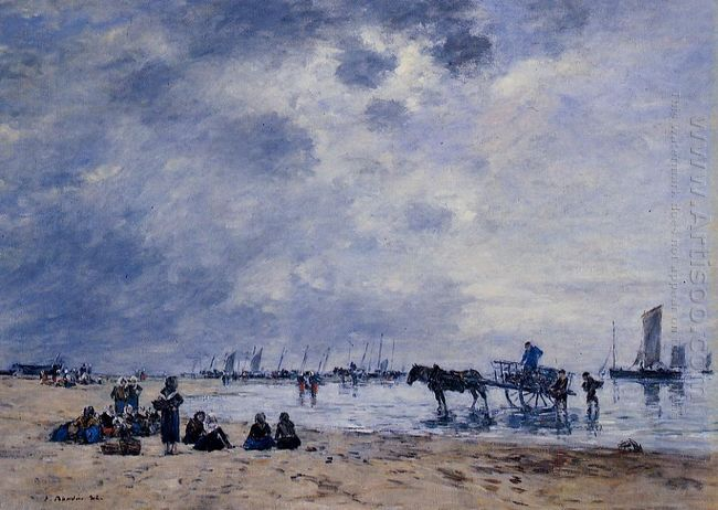 Berck The Arrival Of The Fishing Boats