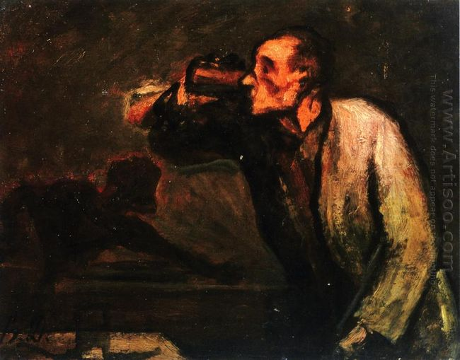 Billiard Players The Drinker