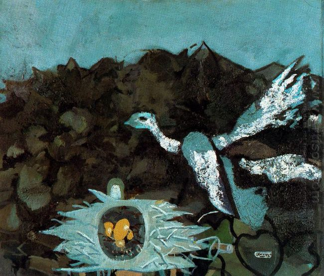 Bird And It S Nest