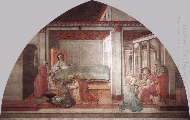 Birth And Naming St John 1465