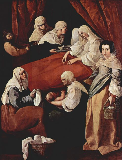 Birth Of The Virgin 1629