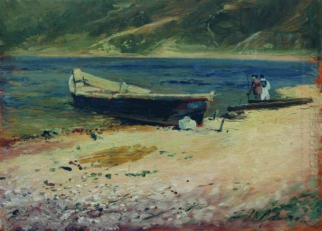 Boat On The Coast