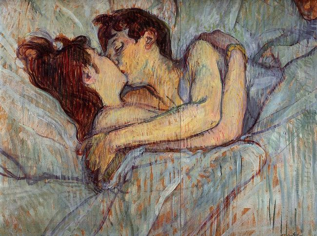 In Bed De Kiss 1892