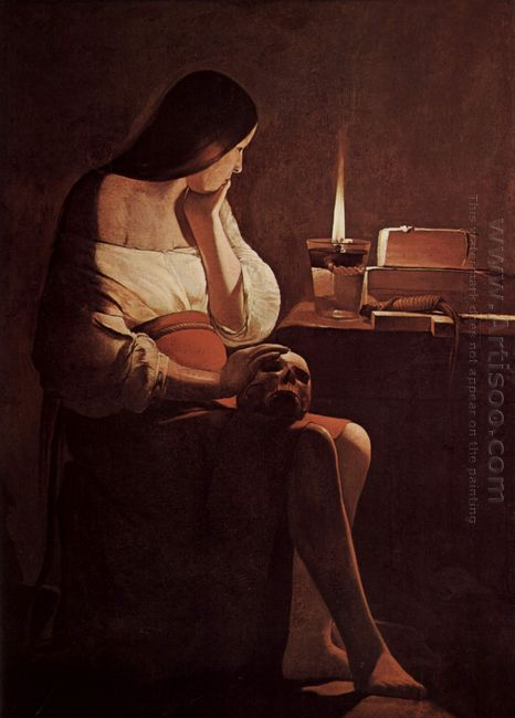 Mary Magdalene With A Night Light 1635