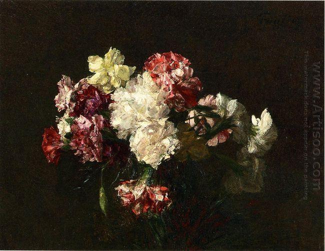 Oil Carnations