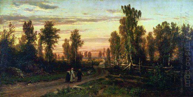 Oil Evening 1871