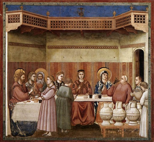 Oil Marriage At Cana