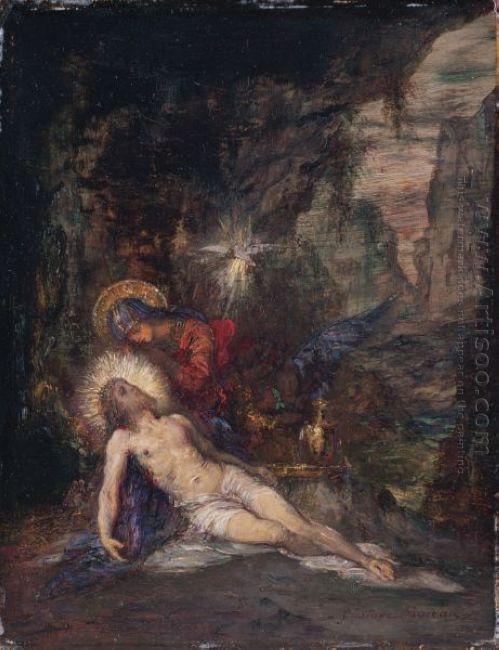 Oil Pieta 1