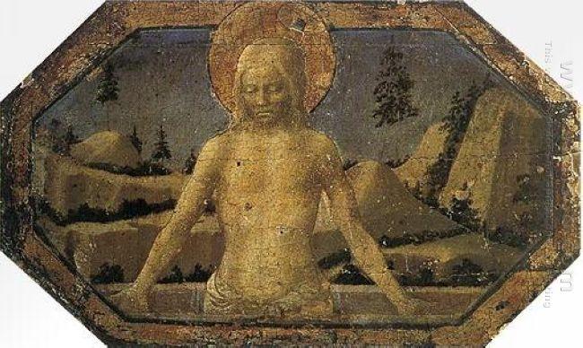Oil Pietà